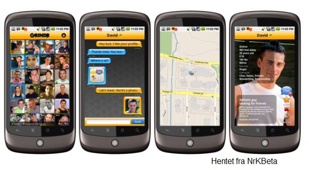 En app som finner venner til deg