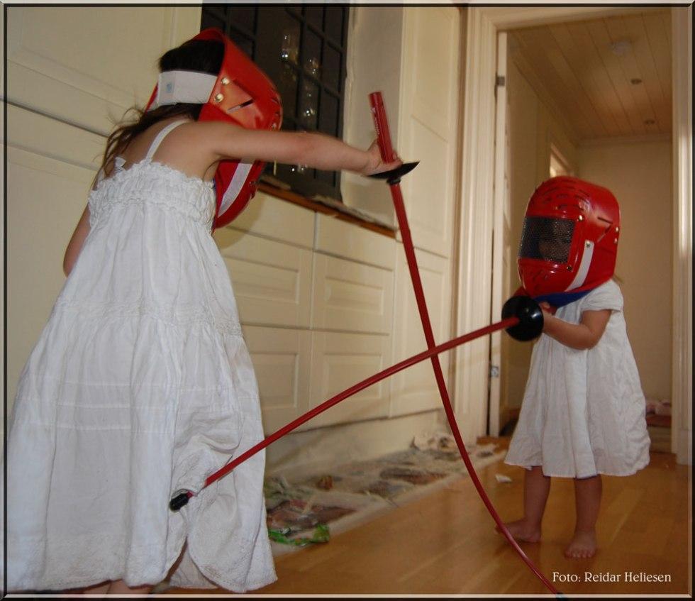 Stor entusiasme hos mine døtre
