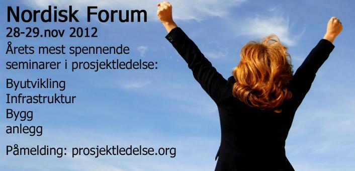 Interessante seminarer i regi av prosjektledelse.org