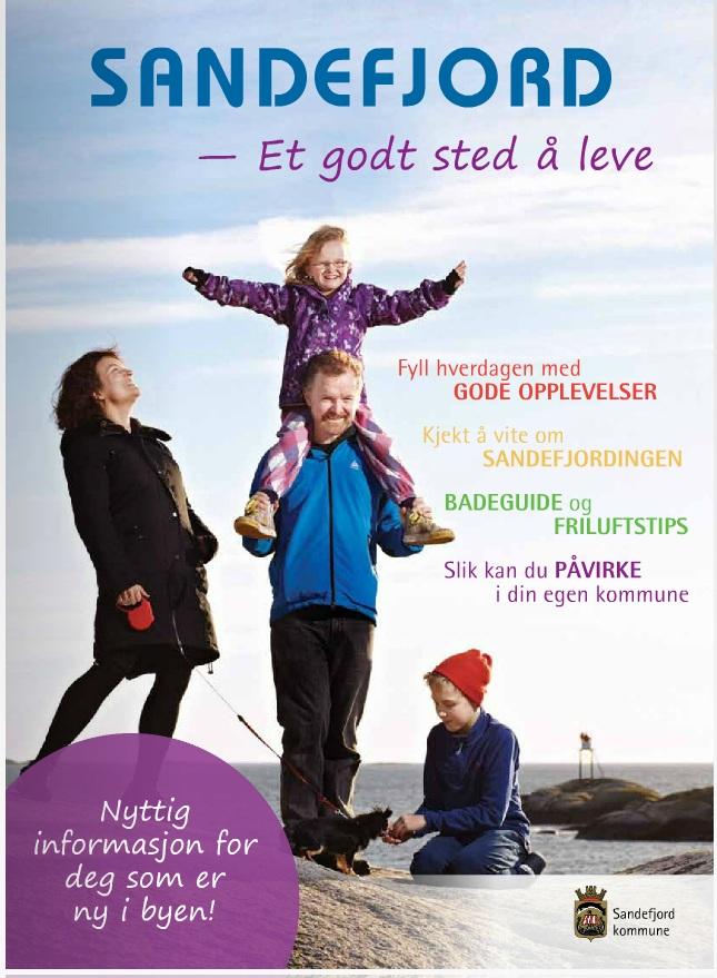 Magasinet gir 48 sider med nyttig informasjon om Sandefjord kommunes tjenester, hvor ting er og hvilke fasiliteter som finnes i kommunen. Nyttig, enkelt og ganske smakfullt(må ha lov å skryte litt).
