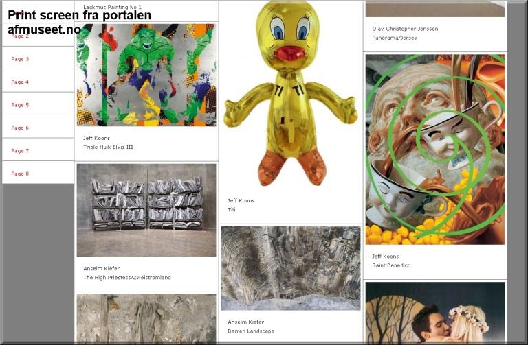 Besøk nettportalen til museet. Den gir en god indikasjon på hva dine sanser vil møte.