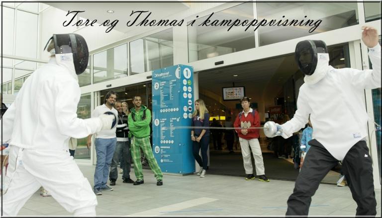 Tore og Thomas har kampoppvisning