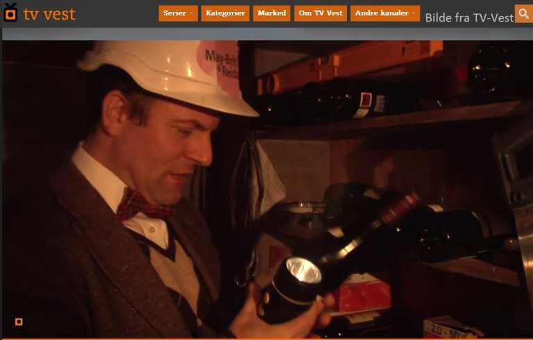 På denne hytten finner Fred viner av ypperste klasse. Akkurat hva han drømmer om.