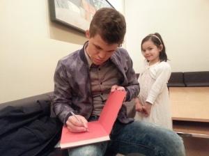 Magnus Carlsen skriver til Lykke-Merlot.
