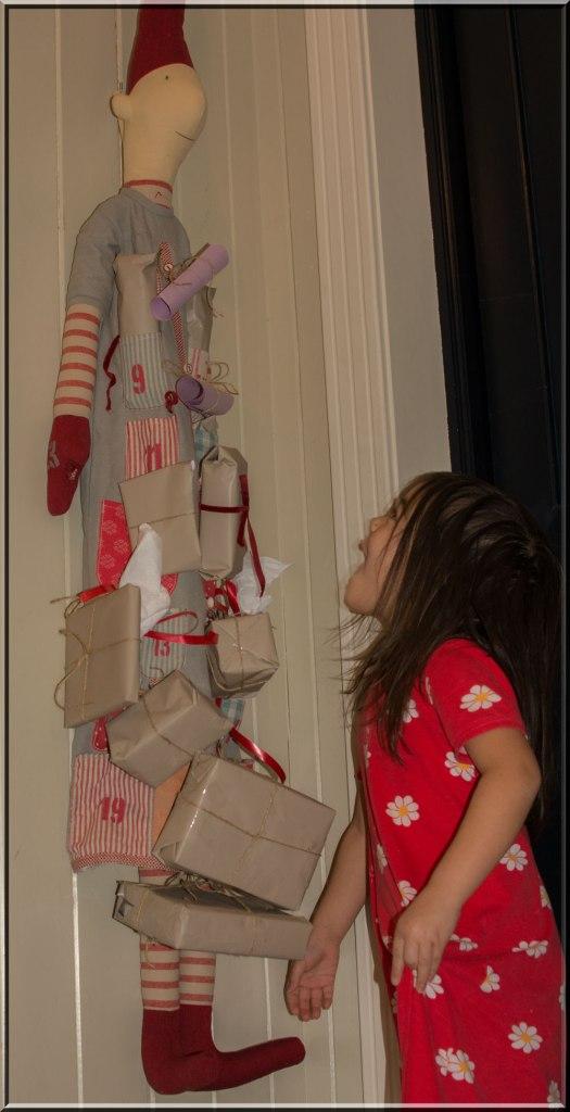 Alltid spennende med julekalender.