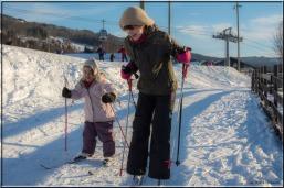 Skiprestasjonene i familien Helliesen er ikke helt på Petter Northug nivå, enda. Men man må ikke gi opp.