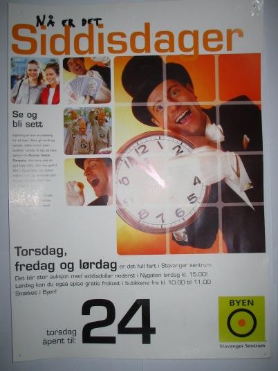 Jeg var heldig og fikk mange oppdrag på å promotere næringsliv og sentrum fra handelsstanden i Stavanger.