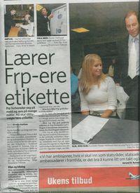I Drammen underviste jeg flittige elever i takt og tone. Nyttig lærdom de kunne ta med seg videre i livet.